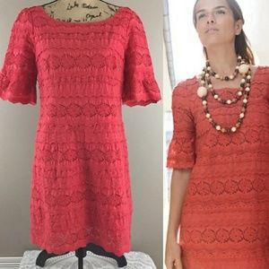 Moulinette Soeurs Coral Lace Dress